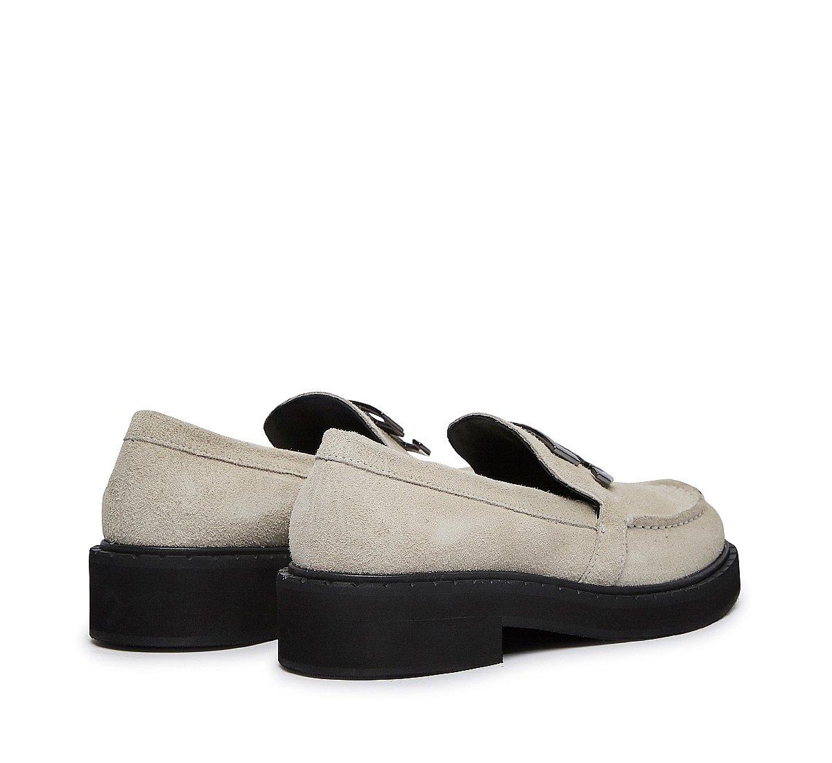 Soft suede moccasins