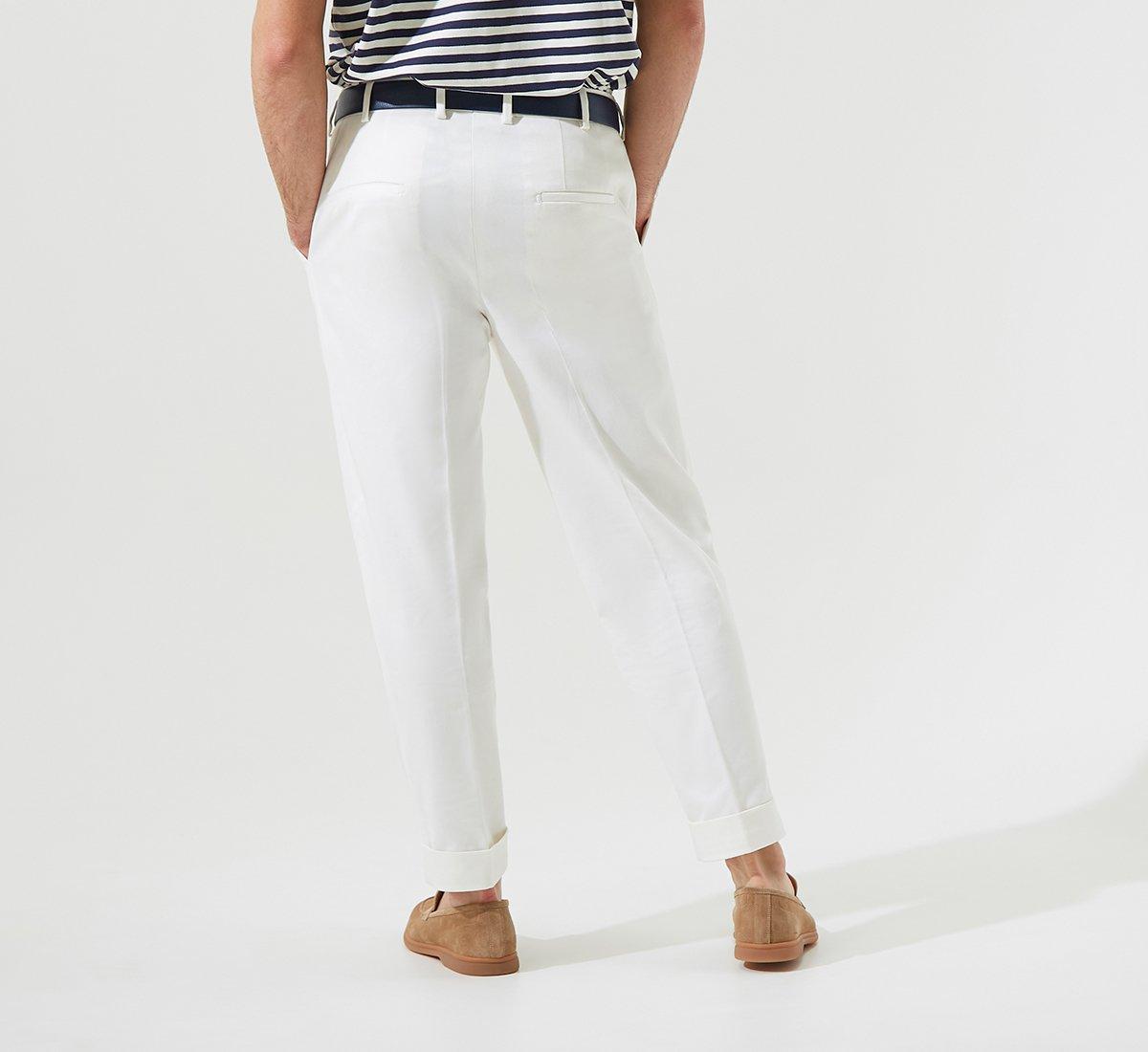 Cotton chinos