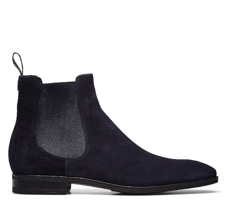 Suede Beatle boots
