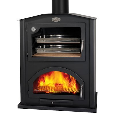 Bronpi Sierra Mural Wood Fireplace - With Oven
