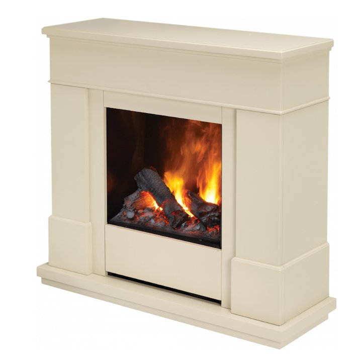 Dimplex Moorefield Optimyst Electric Fireplace Suite - Cream