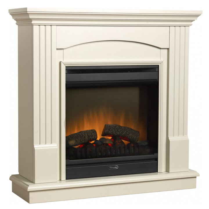 Dimplex Chadwick Optiflame Electric Fireplace Suite - Cream