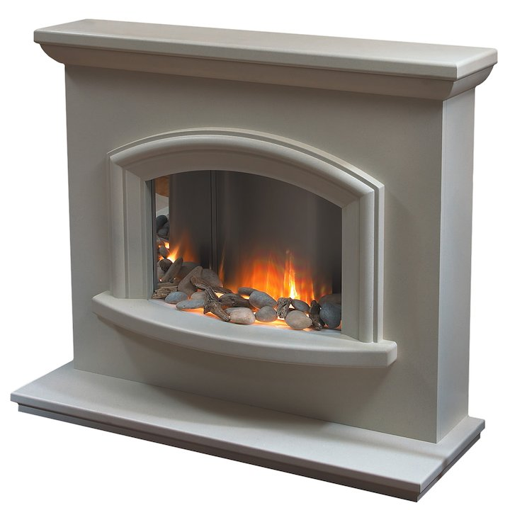 Flamerite Mercia Electric Fireplace Suite - Portland