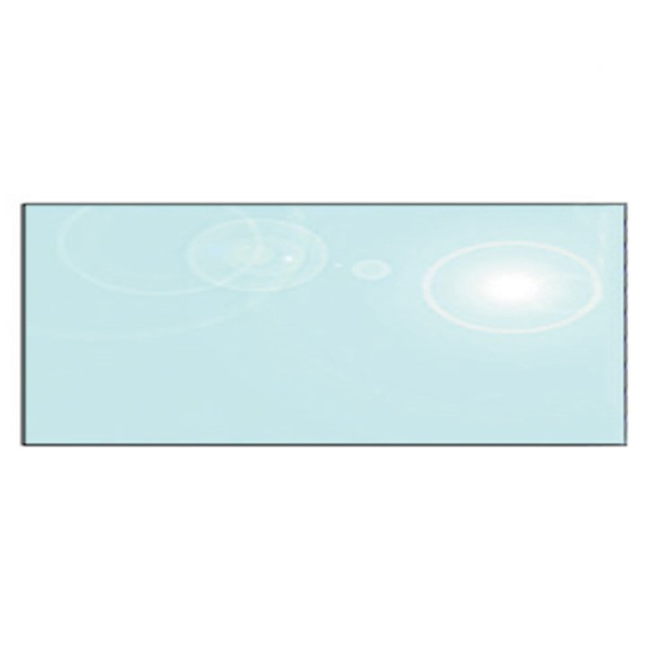 EVA 12mm Rectangular Glass Hearth Floor Plate (300x1000) - Clear