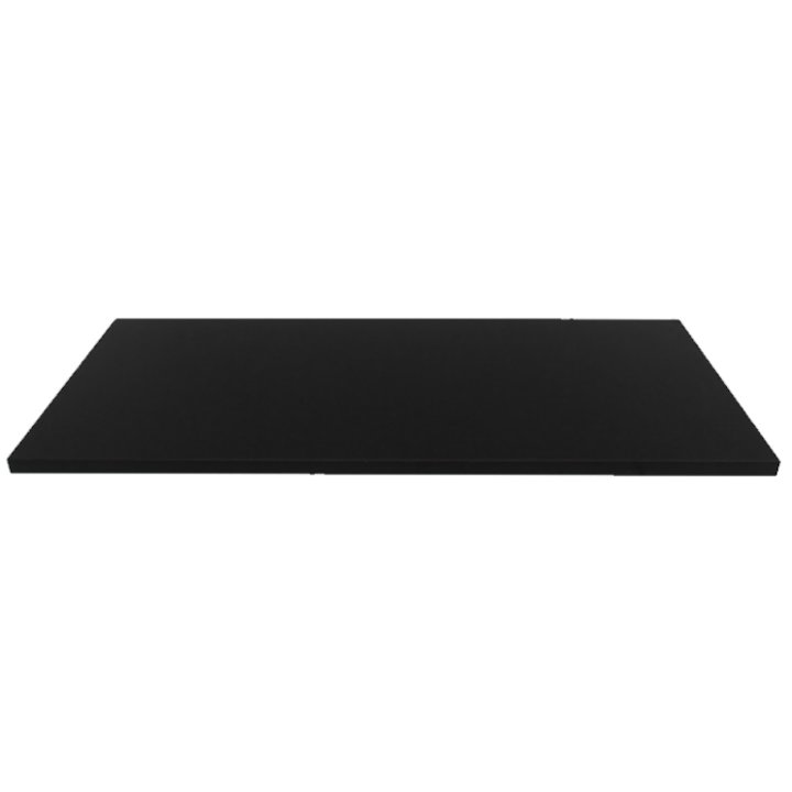EVA 20mm Rectangular Polished Black Granite Floor Plate (610x915) - Black