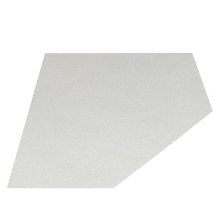 EVA 20mm Clipped Square Limestone Floor Plate (1000x1000) - Portuguese Limestone