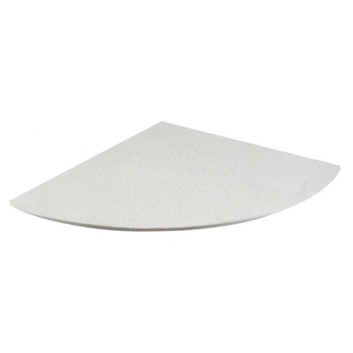 EVA 20mm Quater Circle Limestone Floor Plate (1100x1100) - Portuguese Limestone
