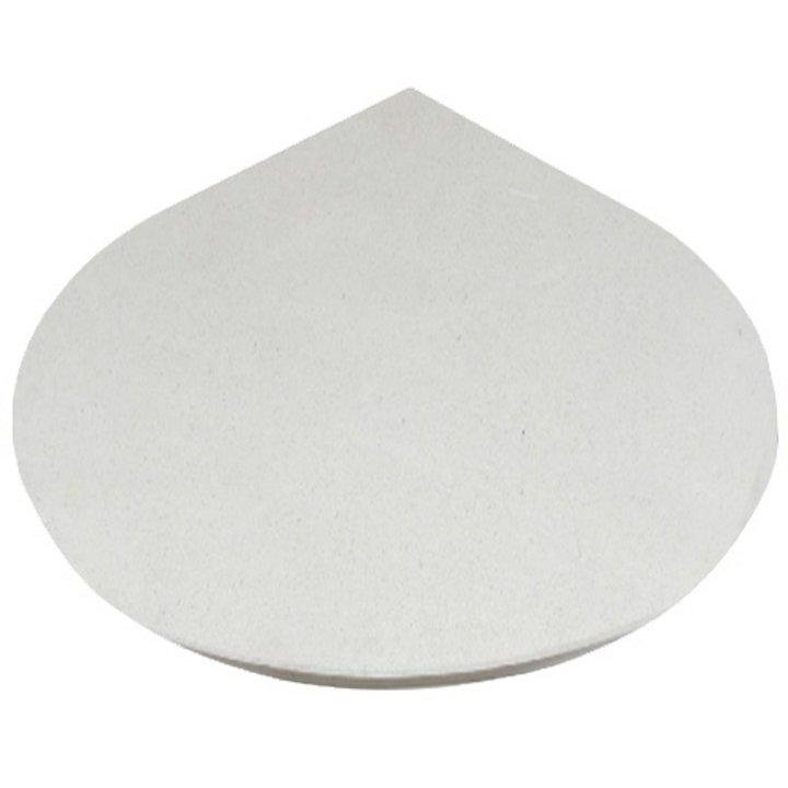 EVA 20mm Teardrop Circle Limestone Floor Plate (1100x950) - Portuguese Limestone