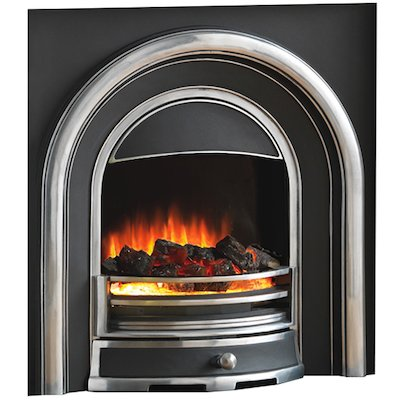 Flamerite Tennyson Elecrtric Arched Fireplace Insert