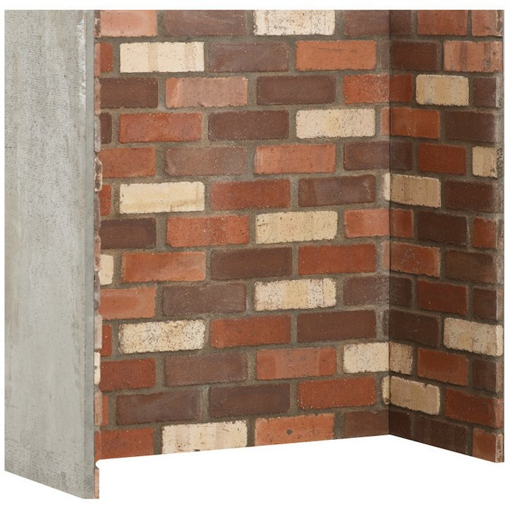 Gallery Rainbow Brick Effect Chamber - Complete Lining Set - Multicolour