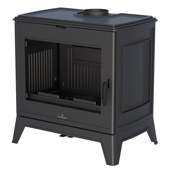 Bronpi Preston 9 Wood Stove - Black