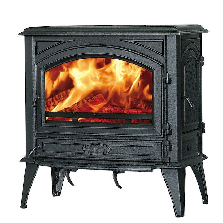 Dovre 760 Wood Stove - Black