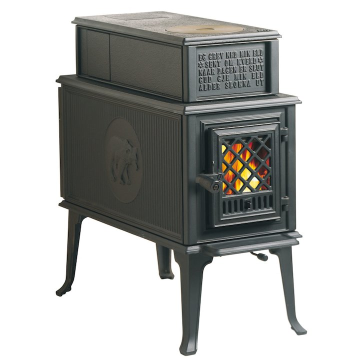 Jotul F118 Wood Stove - Black