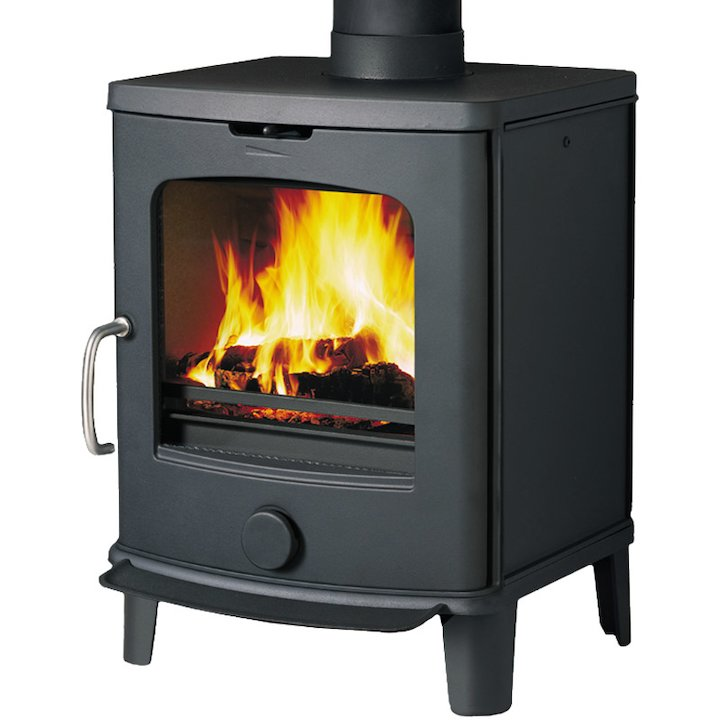 Jotul F145 Short Wood Stove - Black