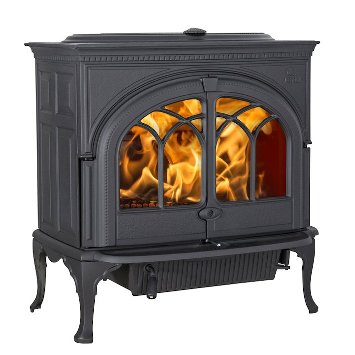 Jotul F600 Wood Stove - Black