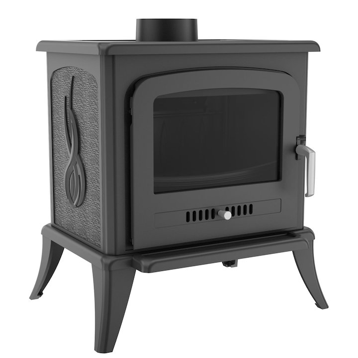 Kratki Koza K7 Wood Stove - Black