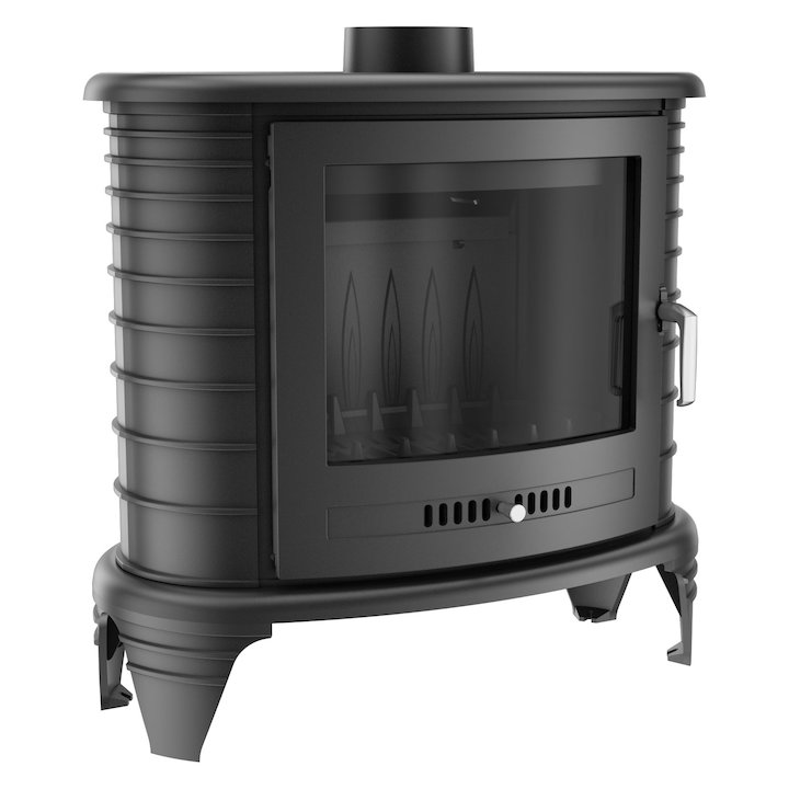 Kratki Koza K8 Wood Stove - Black