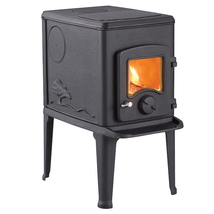 Nordpeis Orion Wood Stove - Black
