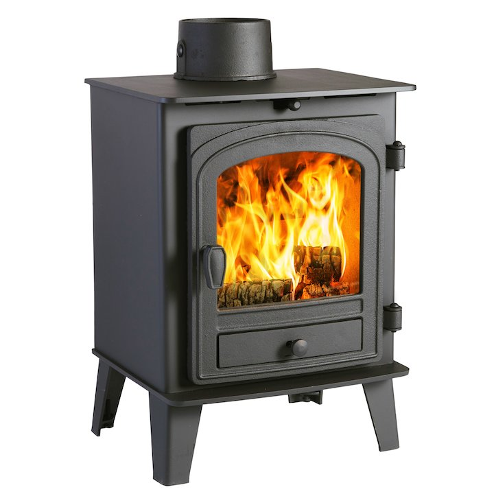 Parkray Consort 4 Wood Stove - Black