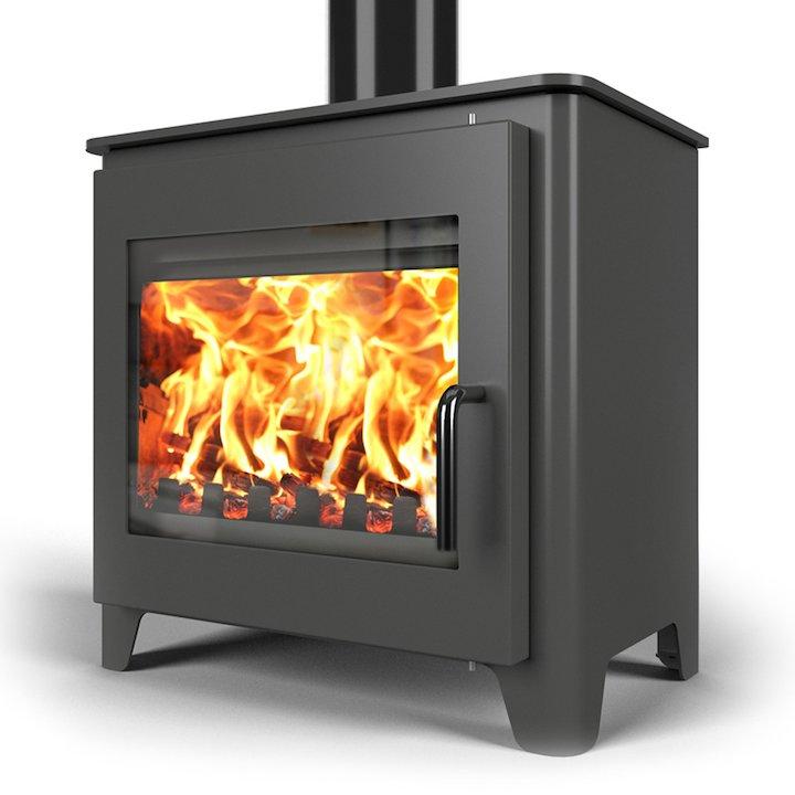 Saltfire ST3 Wood Stove - Charcoal
