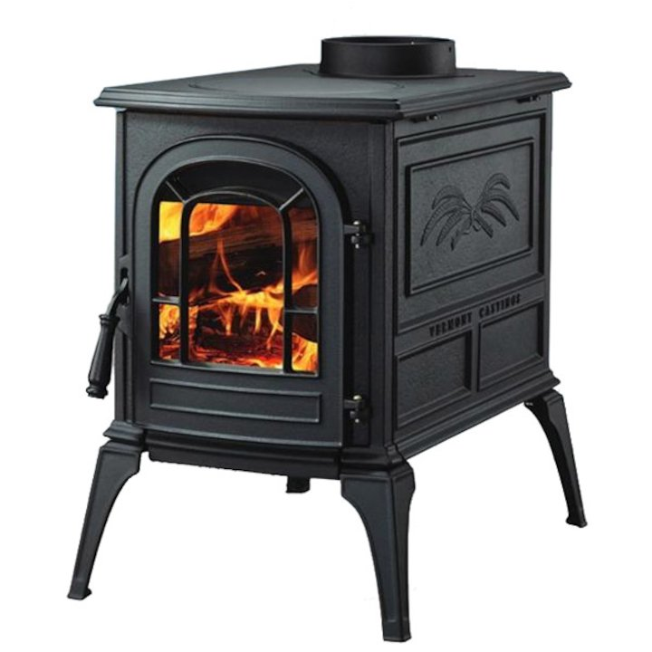 Vermont Aspen Wood Stove - Black