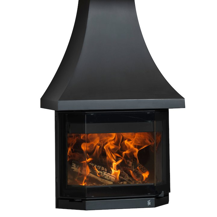 ACR Elmdale Wood Stove - Black