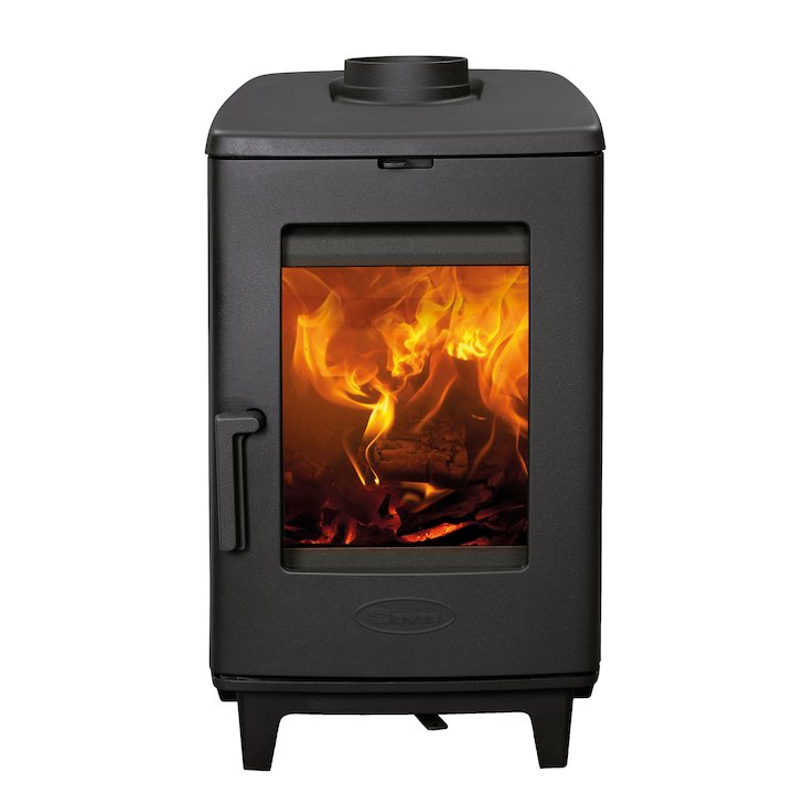 Dovre Brut Wood Stove - Black