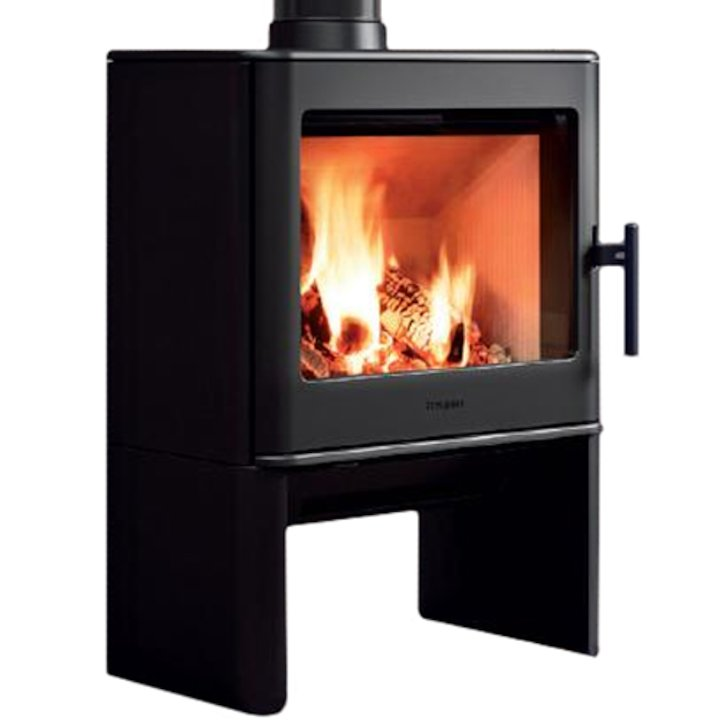 Hergom E40 Wood Stove - Black