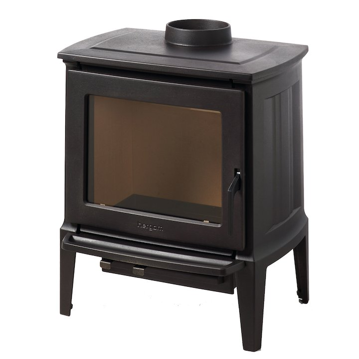 Hergom E30 Small Wood Stove - Black