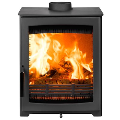 Parkray Aspect 5 Wood Stove Black Black Handles