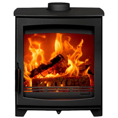Parkray Aspect 6 Wood Stove Black Black Handles