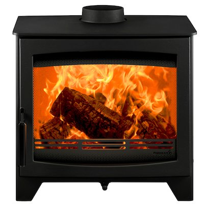 Parkray Aspect 7 Wood Stove Black Black Handles
