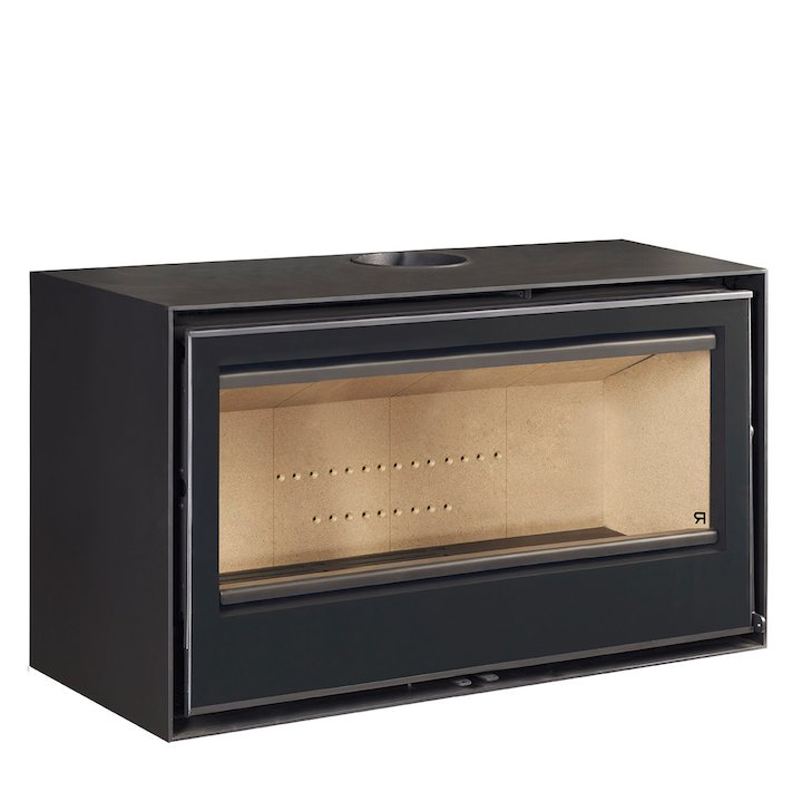 Rocal Habit 100 Wood Stove - Black