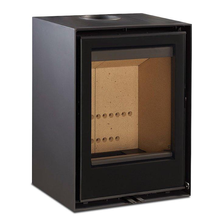 Rocal Habit 50V Wood Stove - Black