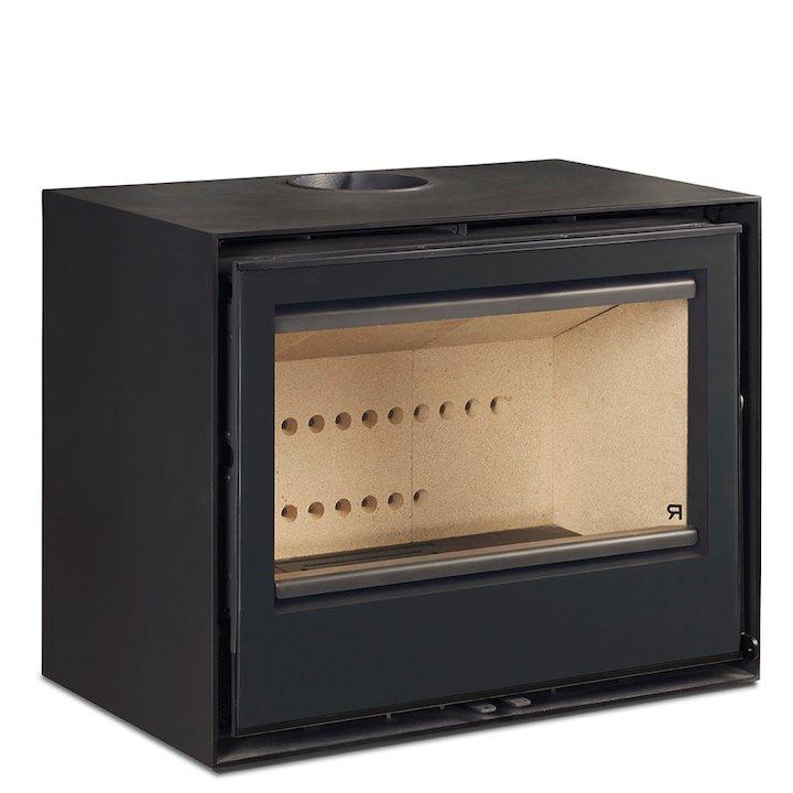 Rocal Habit 70A Wood Stove - Black