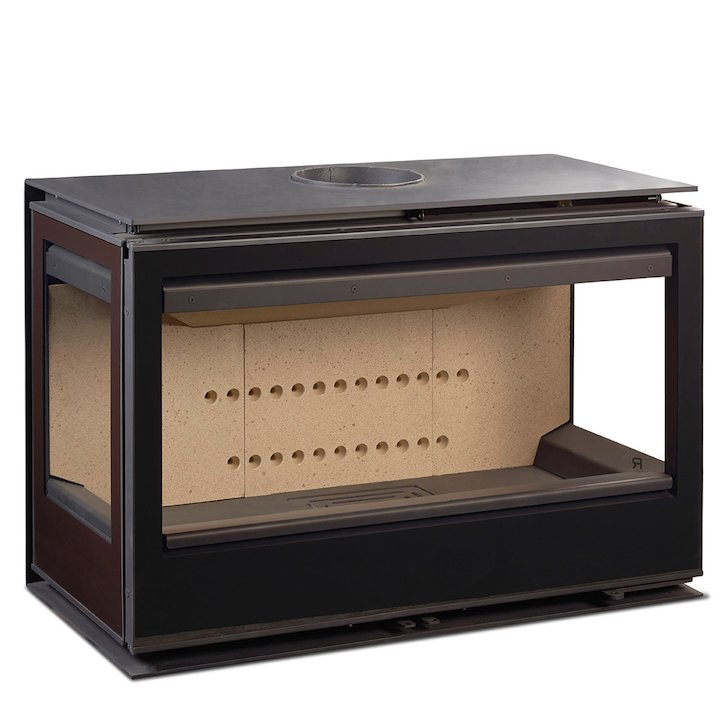 Rocal Habit 93 TC Wood Stove - Black