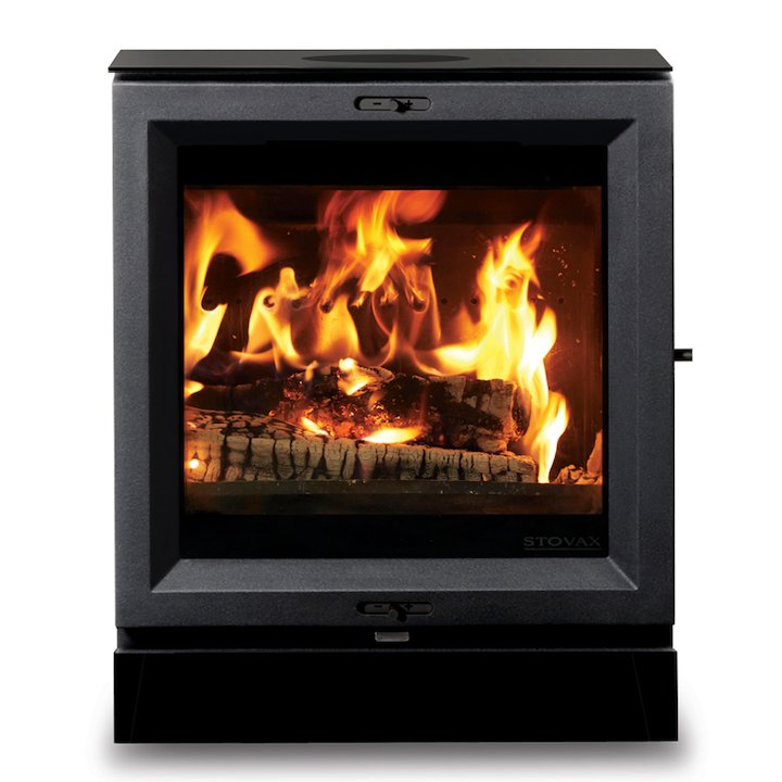 Stovax View 5 Wood Stove - Black