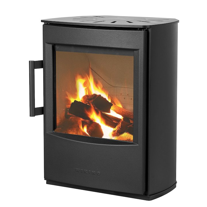 Wiking Mini 2 Plinth Wood Stove - Black