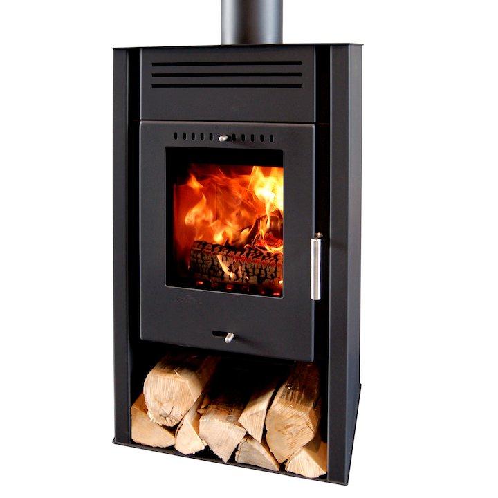 Aduro Asgard 1 Wood Stove - Black