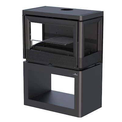 Bronpi Versalles Wood Stove - Side Glass