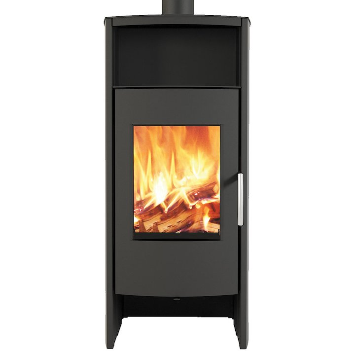 Broseley Phoenix 8 Wood Stove - Black