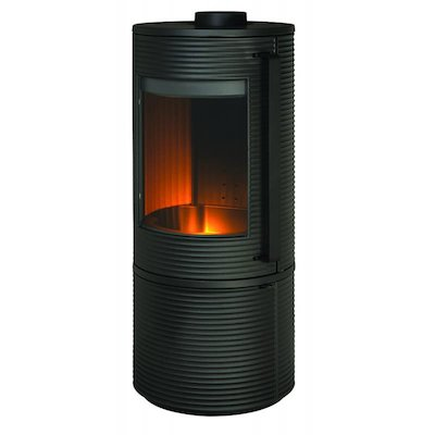 Invicta Altara Wood Stove Anthracite Black Handles