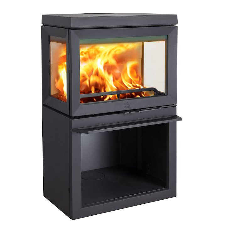 Jotul F520 Wood Stove - Black