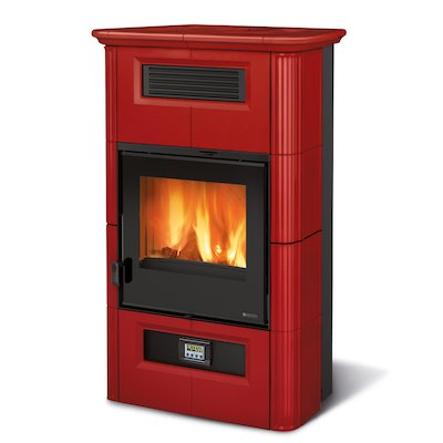 La Nordica Wanda Wood Stove Bordeaux Classic Design