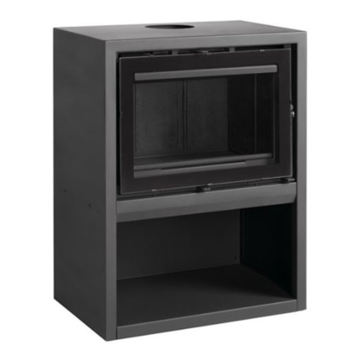 LL Calor 1160 Wood Stove - Black