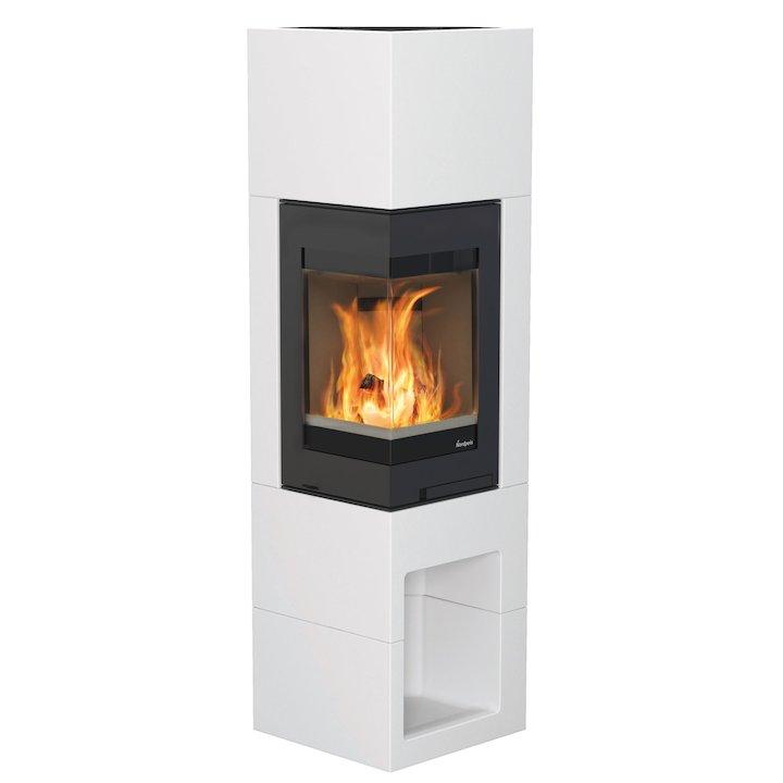 Nordpeis Ordense S31A Wood Stove - White