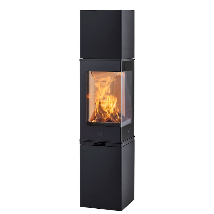 Scan 80 High Top Wood Stove - Black