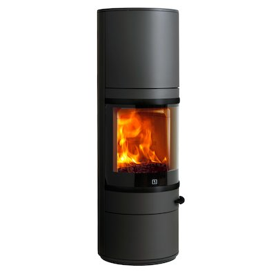 Scan 83 Maxi Wood Stove Black Black Trim