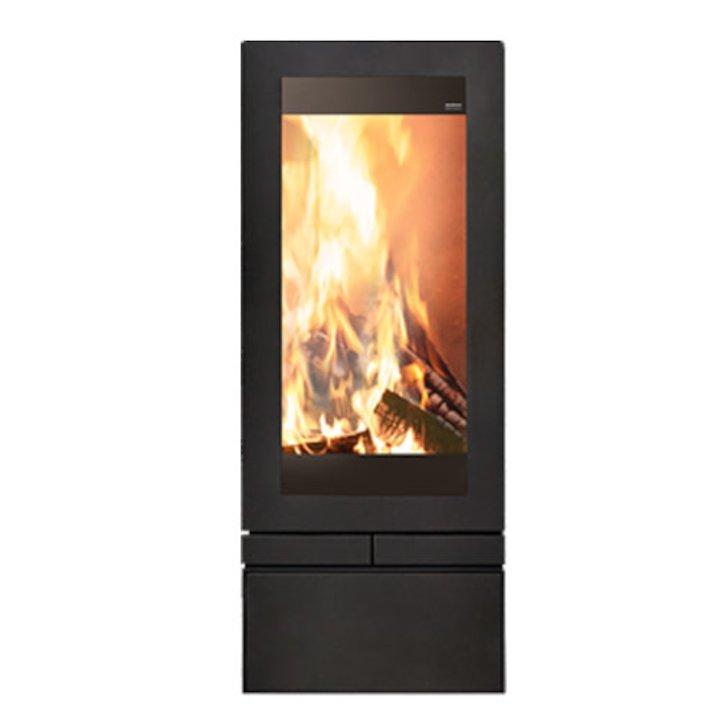 Skantherm Elements 400 Wood Stove - Black