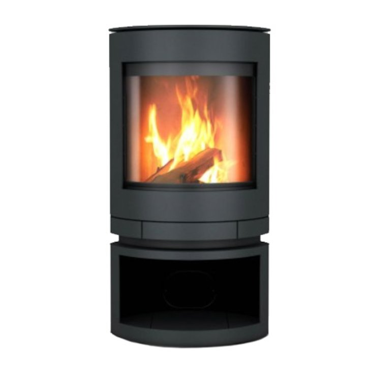 Skantherm Emotion Small Wood Stove - Black